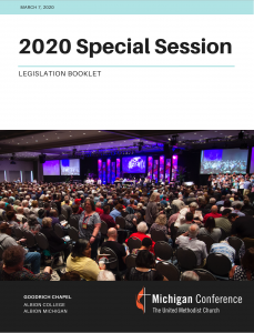 Special Session Legislation Cover